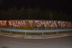 grafiti gia fyssa sth venizelou