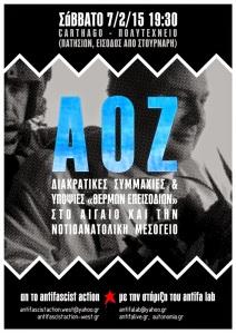 aoz (5.2.15) antifasch action