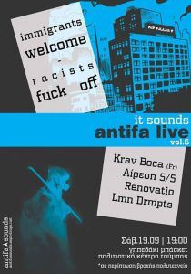 live(14-9-15) antifa sounds